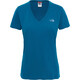 The North Face W's Simple Dom S/S Tee Blue Coral